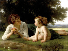 Gallery Print  Versuchung - William Adolphe Bouguereau