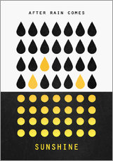 Gallery Print  After rain comes sunshine - Elisabeth Fredriksson
