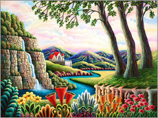 Gallery Print  Fluss des Traumes - Andy Russell