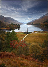 Gallery Print  Glenfinnan Monument - Schottland - Martina Cross