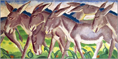 Gallery Print  Eselsfries - Franz Marc