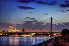 Gallery Print  Daybreak in Cologne - Tanja Arnold Photography