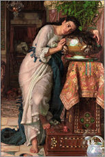Gallery Print  Isabella und der Basilikumtopf - William Holman Hunt