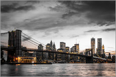 Gallery Print  Brooklyn Bridge - Hannes Cmarits