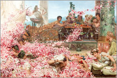 Gallery Print  Die Rosen des Heliogabalus - Lawrence Alma-Tadema