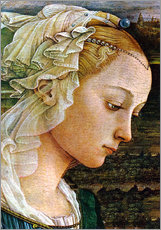 Gallery Print  Madonna (Detail) - Sandro Botticelli