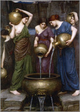 Gallery Print  Danaïdes - John William Waterhouse