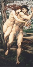 Wandsticker  Baum der Vergebung - Edward Burne-Jones