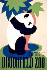 Wandsticker  Brookfield Zoo - Advertising Collection