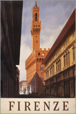 Gallery Print  Florenz - Travel Collection