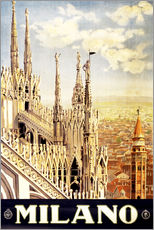 Gallery Print  Milano - Travel Collection