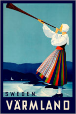 Gallery Print  Sweden Varmland - Travel Collection