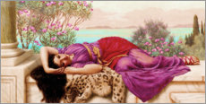 Gallery Print  Das süsse Nichtstun (Dolce far niente) - John William Godward