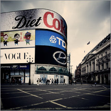 Gallery Print  Picadilly Circus - London - Richard Grando