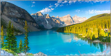 Wandsticker  Moraine Lake panorama - rclassen