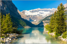 Wandsticker  Lake Louise im Alberta banff national park - Kanada - rclassen