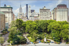 Gallery Print  Sommer in New York City - Union Square - Sascha Kilmer