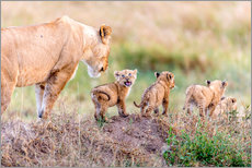 Gallery Print  Let's Go Mom - Ted Taylor