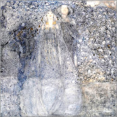 Wandsticker  Silberne Äpfel - Margaret MacDonald Mackintosh