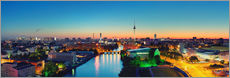 Gallery Print  Berlin Skyline Panorama - Marcus Klepper