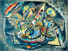 Gallery Print  Komposition 'Graues Oval' - Wassily Kandinsky