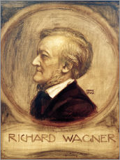 Gallery Print  Richard Wagner - Franz von Stuck