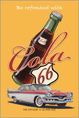 Gallery Print  Cola 66 Advertising - Georg Huber