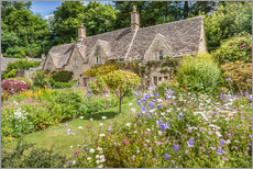 Gallery Print  Alte Cottages in Bibury, Cotswolds, Gloucestershire (England) - Christian Müringer