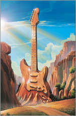 Gallery Print  Guitar Rock - Georg Huber