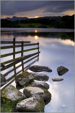 Wandsticker  Loughrigg Tarn in England - Jeremy Lightfoot