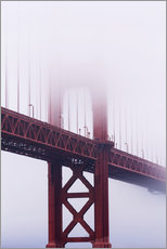 Gallery Print  Golden Gate Bridge im Nebel - Jean Brooks
