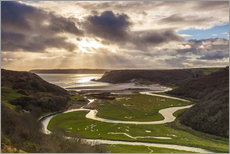 Gallery Print  Pennard Pille in Wales - Billy Stock