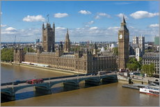 Gallery Print  Westminster Bridge mit Houses of Parliament - Walter Rawlings