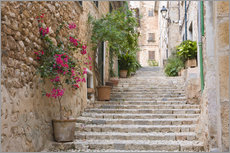 Gallery Print  Gasse in Fornalutx, Mallorca - Ruth Tomlinson