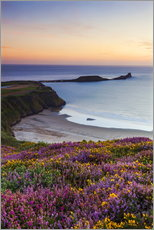Gallery Print  Rhossili Bay, Wales - Billy Stock