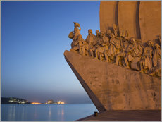 Wandsticker  Monument to Discoveries, Belem, Lisbon, Portugal, Europe - Angelo Cavalli
