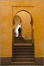 Wandsticker  Mausoleum of Moulay Ismail, Meknes, Morocco - Marco Cristofori
