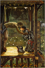 Wandsticker  Die Barmherzigen Ritter - Edward Burne-Jones