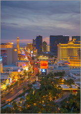 Gallery Print  The Strip, Las Vegas, Nevada, USA - Alan Copson