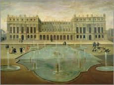 Gallery Print  Schloss Versailles - French School