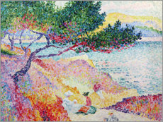 Wandsticker  Der Strand von Saint-Clair - Henri Edmond Cross