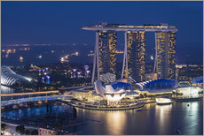 Gallery Print  Marina Bay Sands Hotel - Gabrielle & Michel Therin-Weise