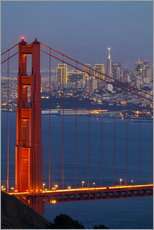 Gallery Print  Golden Gate Bridge - Miles Ertman