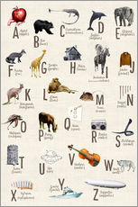 Gallery Print  abc poster - Sabrina Alles Deins