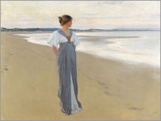 Gallery Print  Am Strand - William Henry Margetson