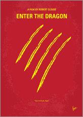 Wandsticker  Enter The Dragon - chungkong