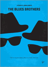 Wandsticker  The Blues Brothers - chungkong