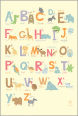 Gallery Print  ABC-Kinderkrippe - Petit Griffin