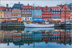 Gallery Print  Nyhavn reflected - Scott McQuaide