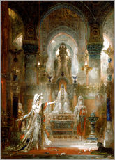 Gallery Print  Salome tanzt vor Herodes - Gustave Moreau
